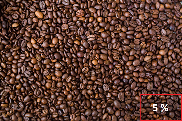 Coffee Beans Peaberry