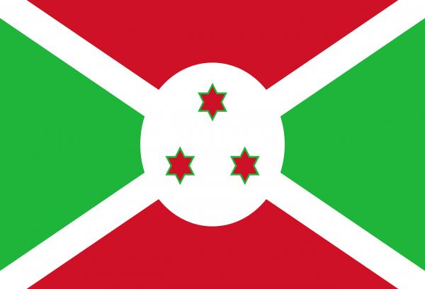 Burundi Coffee Flag