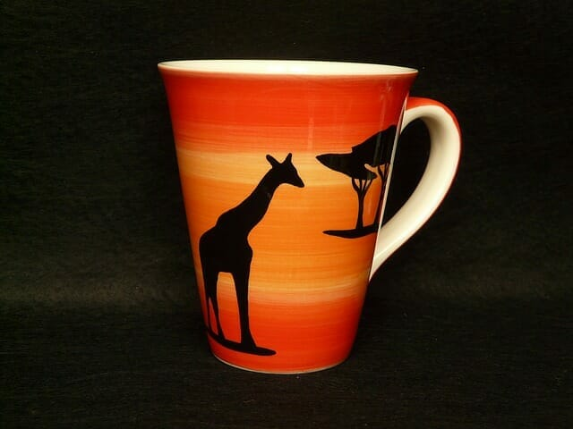 African Coffee Cup