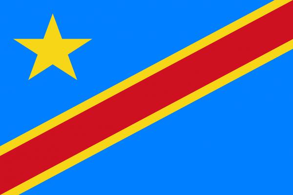 Democratic Republic of the Congo Coffee Flag