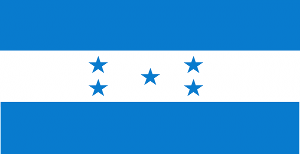 Honduran Coffee Flag