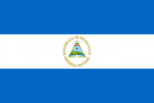 Nicaraguan Coffee Flag