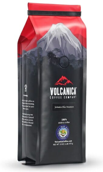Volcanica Jamaican Blue Mountain Peaberry Coffee