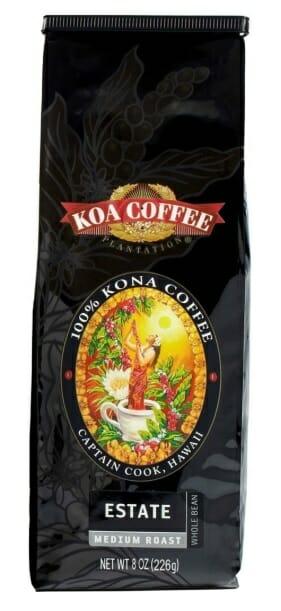 Hawaiian Kona Estate Coffee