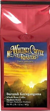 Mt Whitney Burundi Coffee